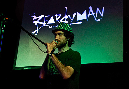 Beardyman live @ Reading Festival 2010