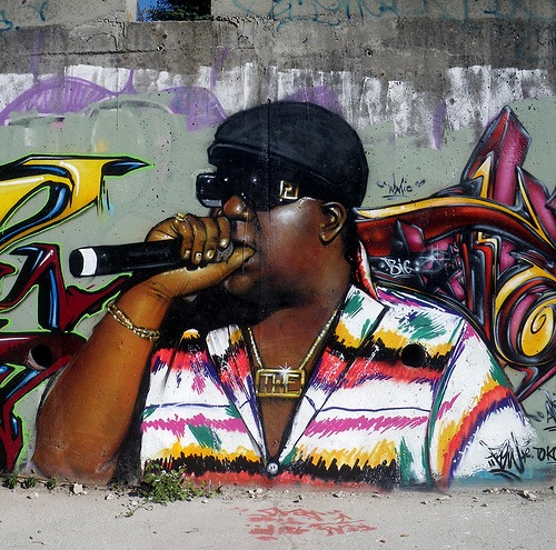 biggie smalls graffiti