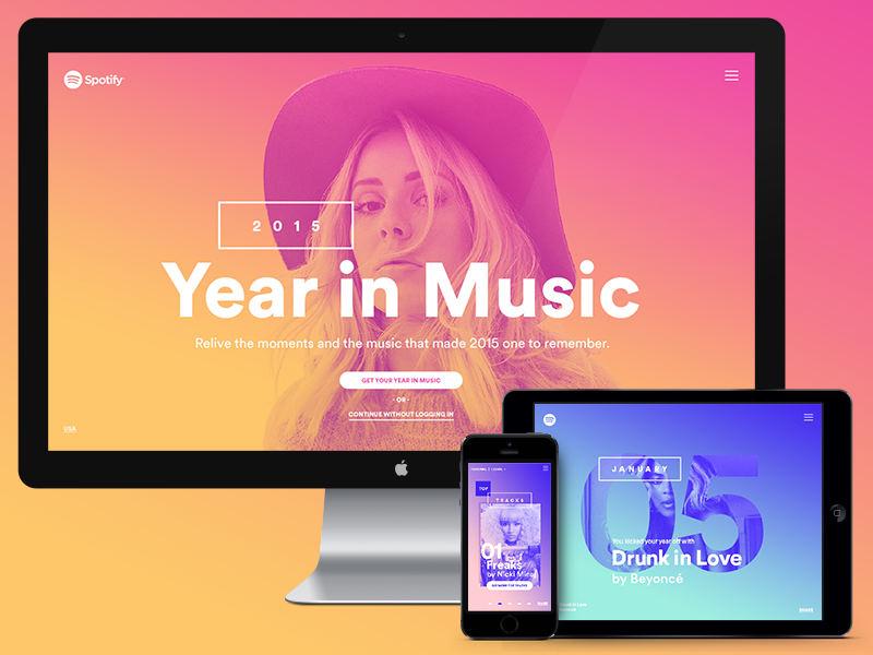 Spotify — Year in Music